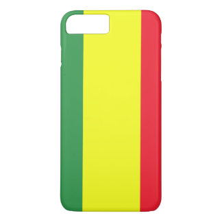 Bandeira de Rasta Capa iPhone 7 Plus