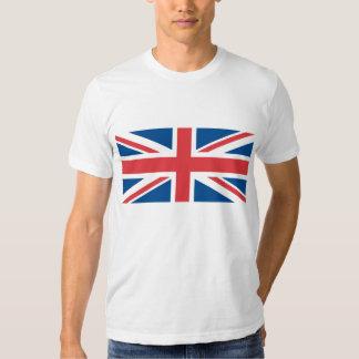Bandeira de Reino Unido da Grâ Bretanha Camiseta