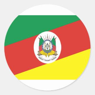 Bandeira de Rio Grande do Sul Adesivo