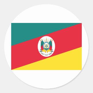 Bandeira de Rio Grande do Sul, Brasil Adesivo