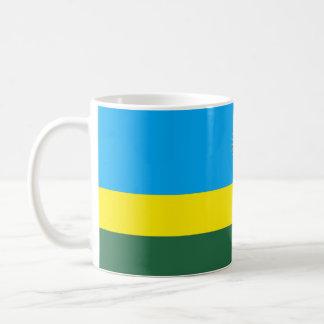 Bandeira de Rwanda Caneca De Café