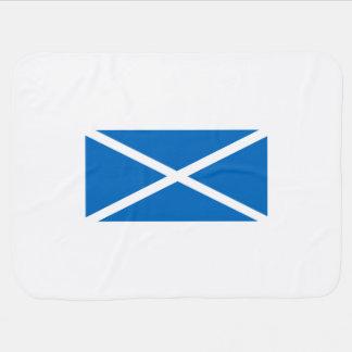 Bandeira de Saltire de Scotland Mantas Para Bebe