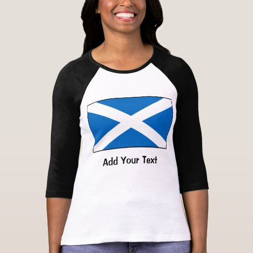 Bandeira de Scotland T-shirt