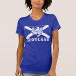 Bandeira de Scotland Tshirts