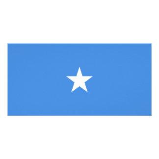 Bandeira de Somália Cartão Com Foto