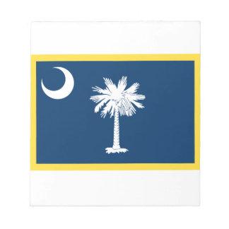 Bandeira de South Carolina Caderno De Anotação