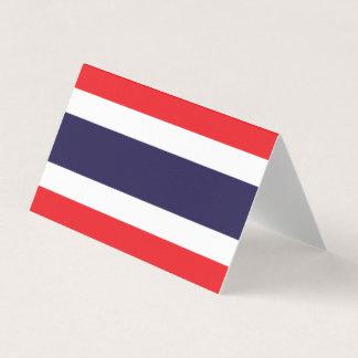 Bandeira de Tailândia Cartão