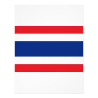 Bandeira de Tailândia Flyer 21.59 X 27.94cm
