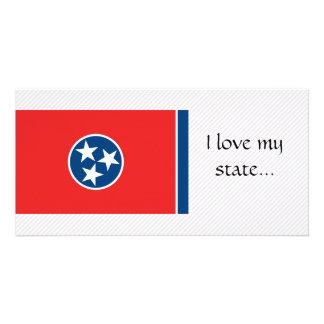Bandeira de Tennessee Cartao Com Foto
