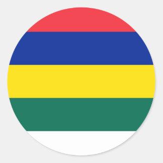 Bandeira de Terschelling Adesivo Redondo
