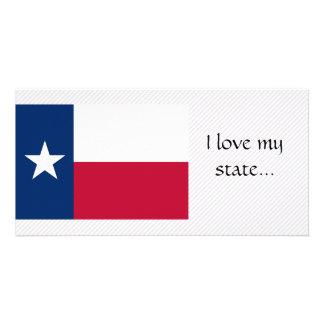 Bandeira de Texas Cartões Com Fotos