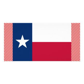 Bandeira de Texas Cartoes Com Foto Personalizados
