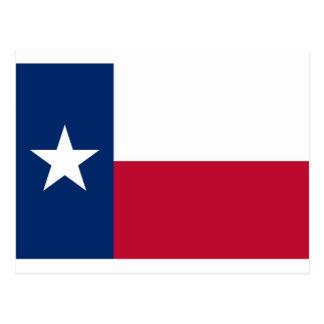 Bandeira de Texas Cartão Postal