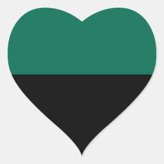 Bandeira de Texel Adesivo Coração
