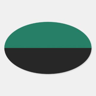 Bandeira de Texel Adesivo Oval