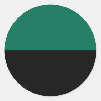 Bandeira de Texel Adesivo Redondo