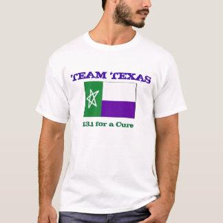 Bandeira de TNT TX, EQUIPE TEXAS, 13,1 para uma Camiseta