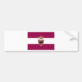 Bandeira de Trentino (Italia) Adesivo Para Carro