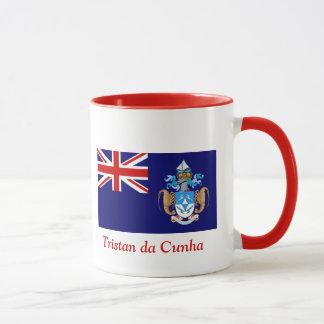 Bandeira de Tristan a Dinamarca Cunha