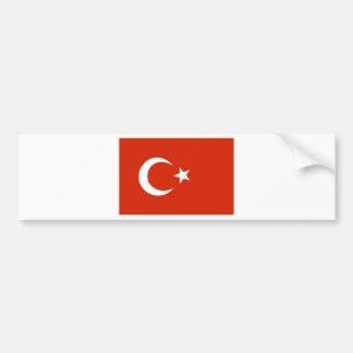 Bandeira de Turquia Adesivo Para Carro
