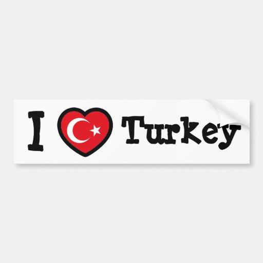 Bandeira de Turquia Adesivo