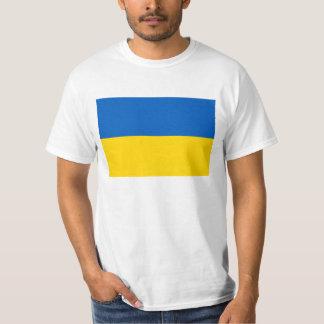 Bandeira de Ucrânia - bandeira ucraniana - Camiseta