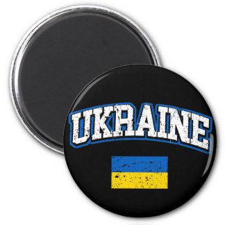 Bandeira de Ucrânia Imã