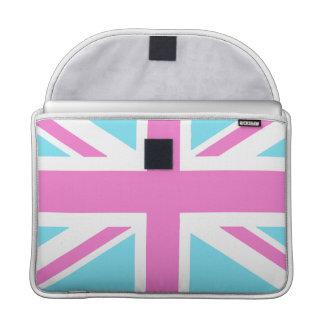 Bandeira de união bonito Macbook dos Pastels cobri Bolsa MacBook Pro