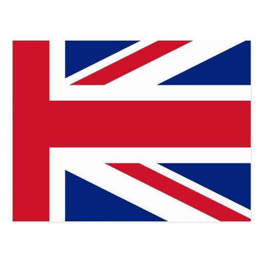 Bandeira de Union Jack do baixo custo do cartão de Cartoes Postais
