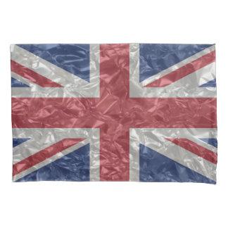 Bandeira de Union Jack - enrugada