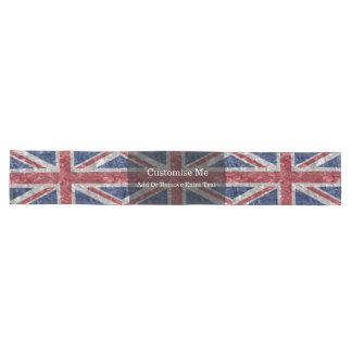 Bandeira de Union Jack - enrugada Caminho De Mesa Grande