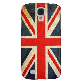 Bandeira de Union Jack Ingleses do vintage Capas Personalizadas Samsung Galaxy S4