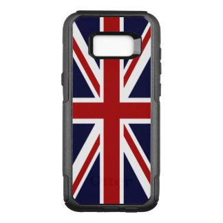 Bandeira de Union Jack Reino Unido Capa OtterBox Commuter Para Samsung Galaxy S8+