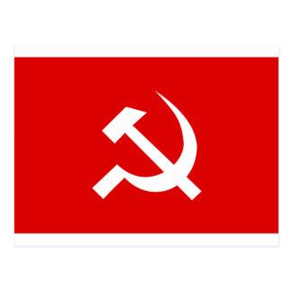Bandeira de URSS Cartão Postal