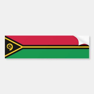 Bandeira de Vanuatu Adesivo Para Carro