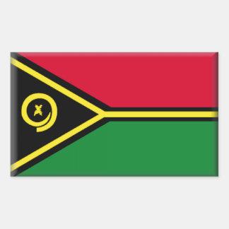 Bandeira de Vanuatu Adesivo Retangular