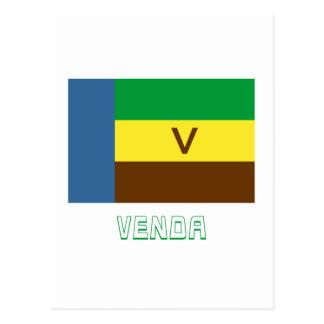 Bandeira de Venda com nome Cartão Postal