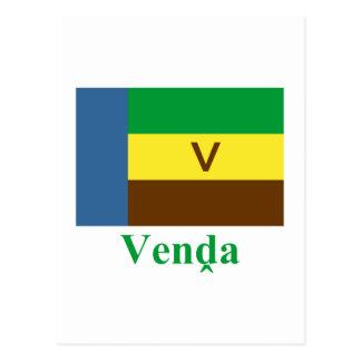 Bandeira de Venda com nome em Venda Cartão Postal