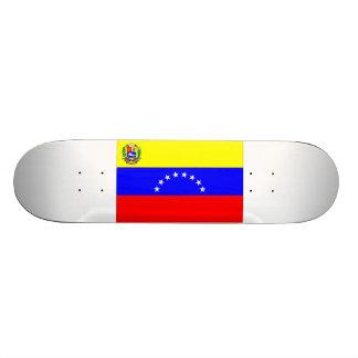 Bandeira de Venezuela Shape De Skate 20cm