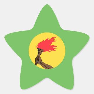 Bandeira de Zaire Adesito Estrela