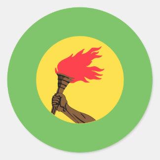 Bandeira de Zaire Adesivo
