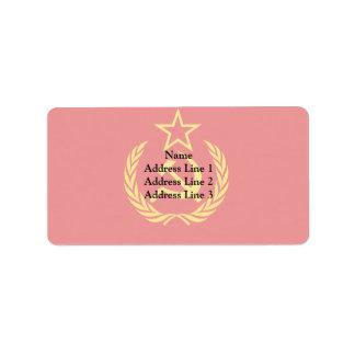 Bandeira Democrática de URSS nova, a República Etiqueta De Endereço