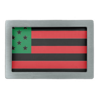 Bandeira do afro-americano - preto e verde