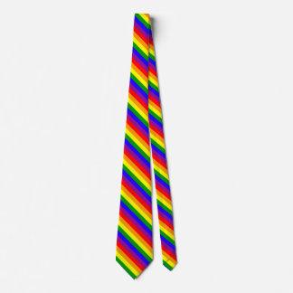 Bandeira do arco-íris gravata