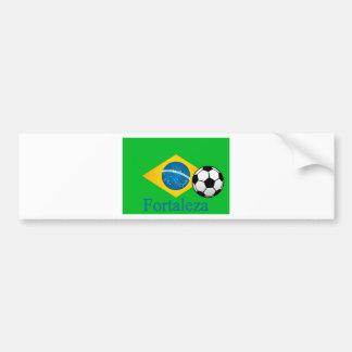 Bandeira do brasileiro de Fortaleza Adesivo Para Carro