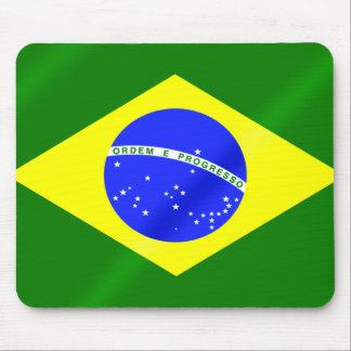 Bandeira do brasileiro dos jogos do verão de Brasi Mousepad