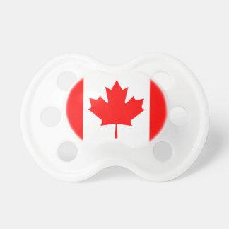 Bandeira do canadense do Pacifier do bebê Chupeta De Bebê