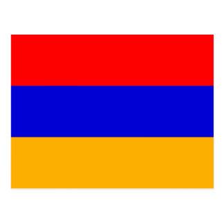 Bandeira do cartão de Arménia