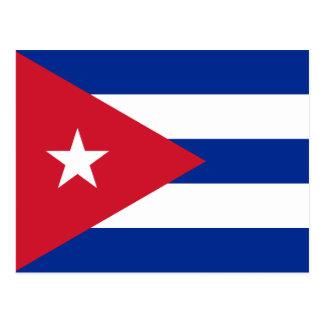 Bandeira do cartão de Cuba