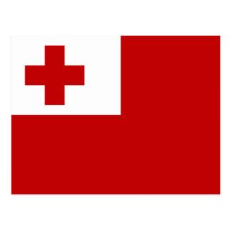 Bandeira do cartão de Tonga